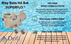 máy bơm hồ bơi superflo pentair