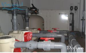 VianPool (Tiếng Việt) Lắp đặt máy bơm nhiệt và thiết bị lọc Hồ bơi Biệt Thự Tulip