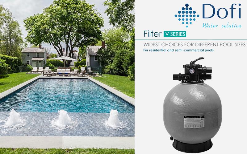 Sand filter series V450
