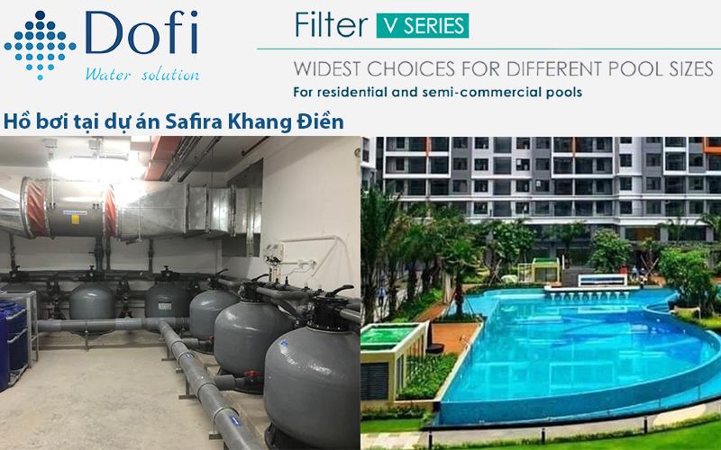 Hồ bơi dự án Safira Khang Điền