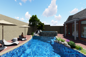 VianPool Design and costruction Family pool