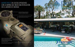 máy bơm bể bơi Pentair IntelliFlo VF
