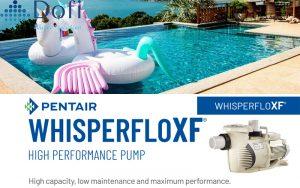 Máy bơm hồ bơi Pentair WhisperFloXF 3HP