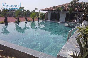VianPool (Tiếng Việt) Thi công xây dựng và hoàn thiện Hồ bơi biệt thự Phú Thọ