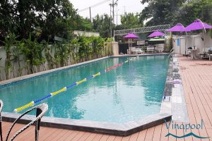 VianPool Cung cấp, lắp đặt và hoàn thiện hồ bơi chung cư Saigonhomes