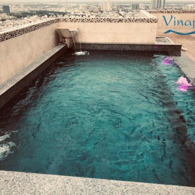 VianPool (Tiếng Việt) Lắp đặt hệ thống lọc hồ bơi Penhouse -Q.7