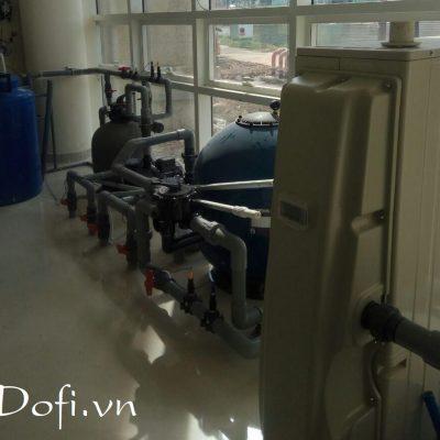 VianPool (Tiếng Việt) Hệ thống nước nóng heater hồ thủy trị Liệu BV175