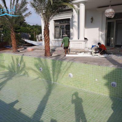 VianPool (Tiếng Việt) Thiết kế thi công thiết bị hồ bơi gia đình C Linh – Long Khánh Đồng Nai