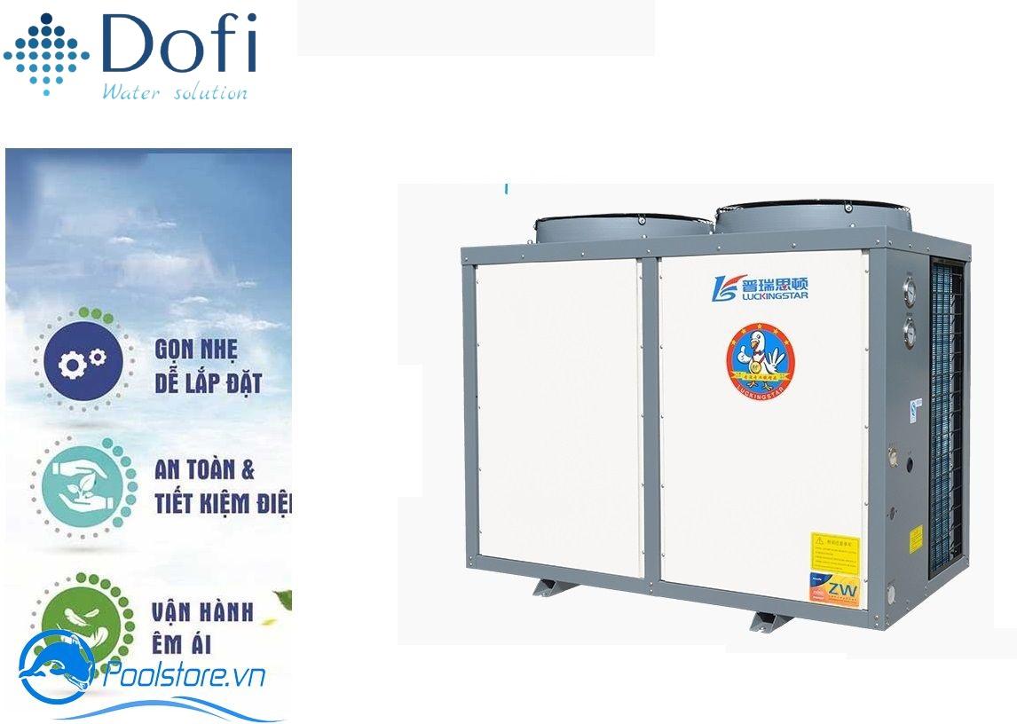 VianPool Cung cấp gói dịch vụ lắp đặt hệ thống nước nóng trung tâm Heatpump cho massage & spa.