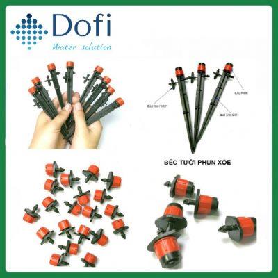 VianPool (Tiếng Việt) Vòi tưới nhỏ giọt điều chỉnh 8 tia phun nước