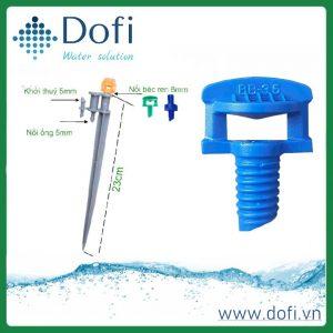 (Tiếng Việt) Béc bọ tưới gốc - tưới tiết kiệm nước